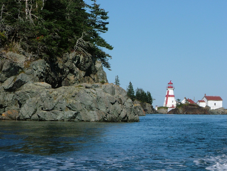 Head Harbour Light Station froma Distance