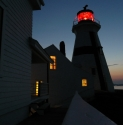 Night Falls on Head Harbour Light Station